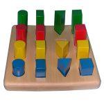 Material montessori de bloques