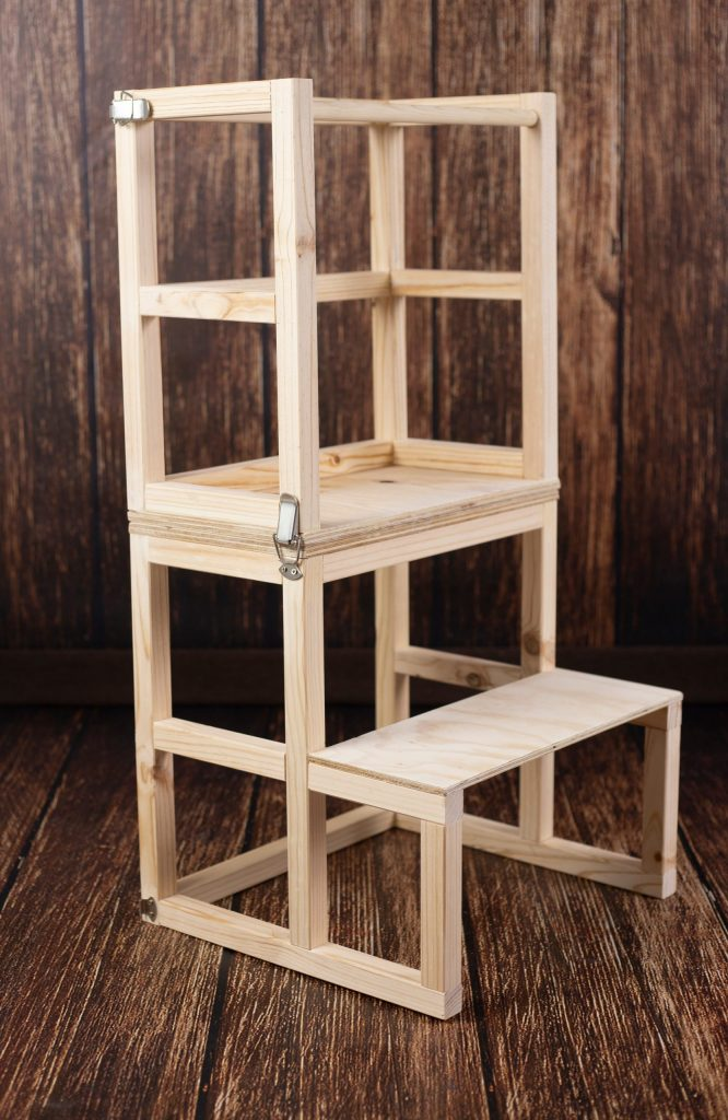 Torre de aprendizaje Montessori convertible
